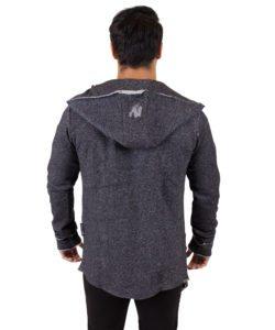 Fitness Vest Grijs Bolder – Gorilla Wear achterkant