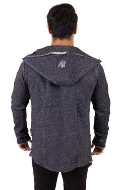 Fitness Vest Grijs Bolder - Gorilla Wear achterkant