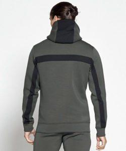 Fitness Vest Khaki Hybrid -Pursue Fitness achterkant