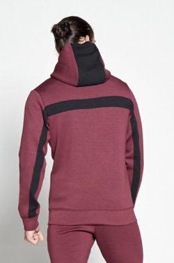 Fitness Vest Rood Hybrid - Pursue Fitness achterkant