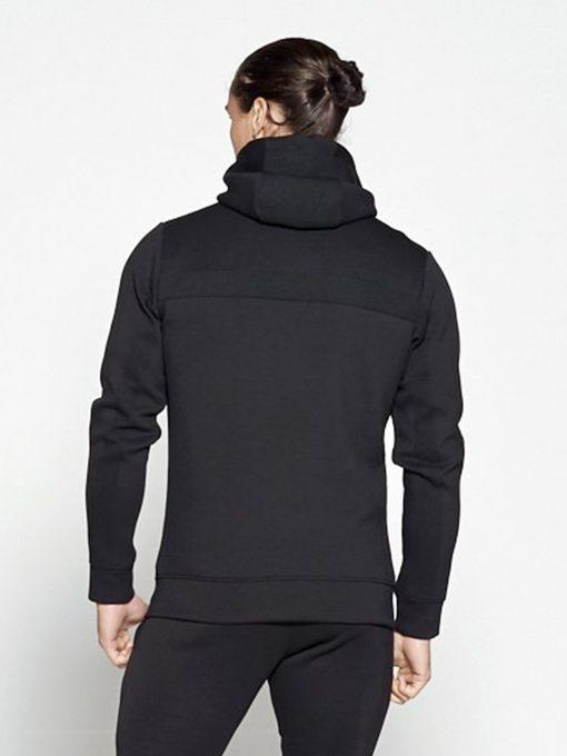 Fitness Vest Zwart Hybrid - Pursue Fitness achterkant