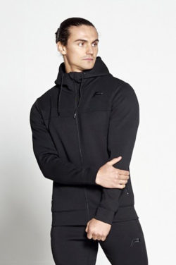 Fitness Vest Zwart Hybrid - Pursue Fitness voorkant