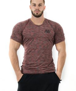 Fitness t-shirt Rood - Nebbia Aesthetic Warrior 126 1