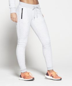 Joggingsbroek Dames Grijs Fleece - Pursue Fitness voorkant