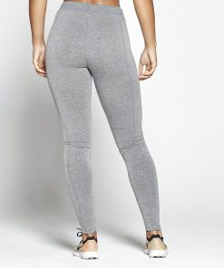 Joggingsbroek Dames Grijs Slim Stretch - Pursue Fitness achterkant