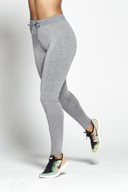 Joggingsbroek Dames Grijs Slim Stretch - Pursue Fitness voorkant