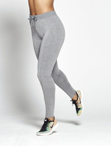 Joggingsbroek Dames Grijs Slim Stretch – Pursue Fitness voorkant