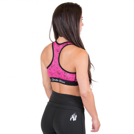 Sport BH Roze - Gorilla Wear Hanna Sports Bra 2