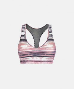 Sport BH Wit Roze - Pursue Fitness Allure Coral Pink voorkant los