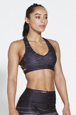 Sport BH Zwart - Pursue Fitness Allure Black Ice voorkant