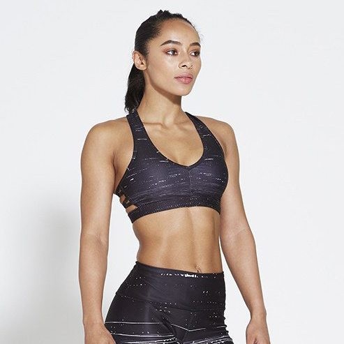 Sport BH Zwart - Pursue Fitness Allure Black Ice voorkant