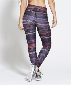 Sportlegging High Waist Multi – Pursue Fitness Allure Multicolour achterkant