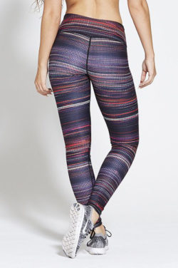 Sportlegging High Waist Multi - Pursue Fitness Allure Multicolour achterkant