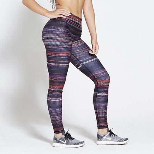 Sportlegging High Waist Multi - Pursue Fitness Allure Multicolour voorkant