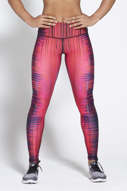 Sportlegging High Waist Roze - Pursue Fitness Allure Empower Pink voorkant