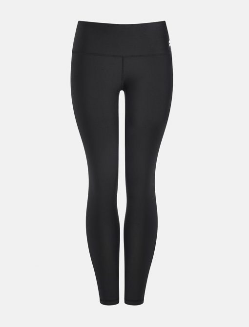 Sportlegging High Waist Zwart - Pursue Fitness Allure voorkant