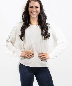 Sporttrui Wit Los - Nebbia Oversized Top 290 1