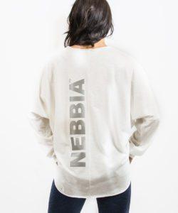 Sporttrui Wit Los – Nebbia Oversized Top 290 3