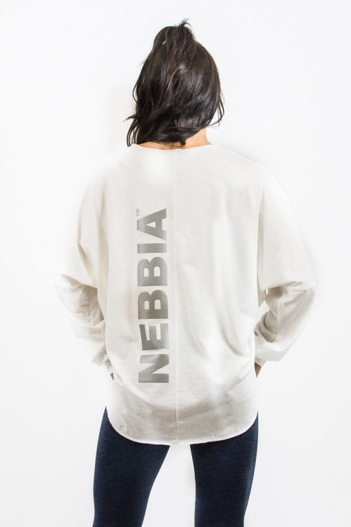 Sporttrui Wit Los - Nebbia Oversized Top 290 3