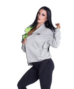Sportvest Grijs - Nebbia Loose Fit Jacket 289 1