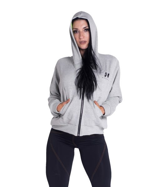 Sportvest Grijs - Nebbia Loose Fit Jacket 289 3