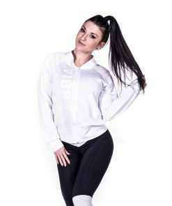 Sportvest Wit Getailleerd - Nebbia Zip Jacket 288 1
