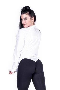 Sportvest Wit Getailleerd - Nebbia Zip Jacket 288 2