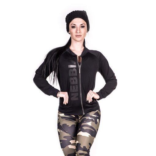 Sportvest Zwart Getailleerd – Nebbia Zip Jacket 288 1