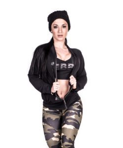 Sportvest Zwart Getailleerd – Nebbia Zip Jacket 288 2