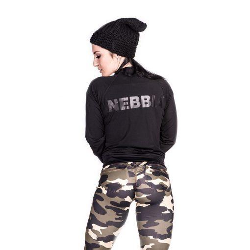 Sportvest Zwart Getailleerd - Nebbia Zip Jacket 288 3