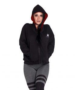 Sportvest Zwart - Nebbia Loose Fit Jacket 289 1
