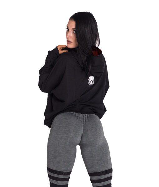 Sportvest Zwart - Nebbia Loose Fit Jacket 289 2