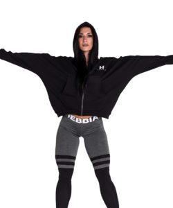 Sportvest Zwart – Nebbia Loose Fit Jacket 289 3