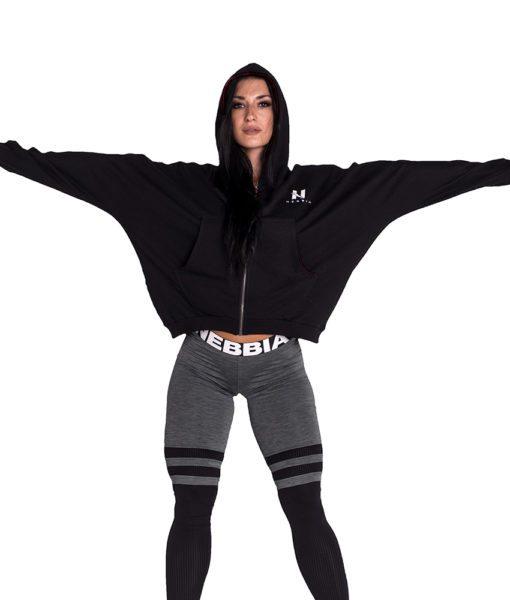 Sportvest Zwart - Nebbia Loose Fit Jacket 289 3