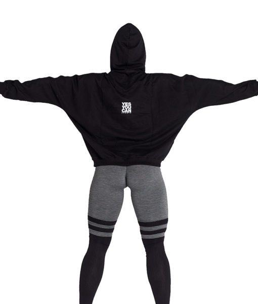 Sportvest Zwart - Nebbia Loose Fit Jacket 289 4
