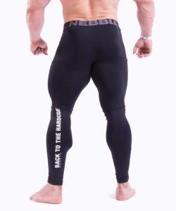 Bodybuilding Legging Zwart Nebbia 315 achterkant