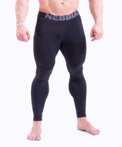 Bodybuilding Legging Zwart Nebbia 315 voorkant