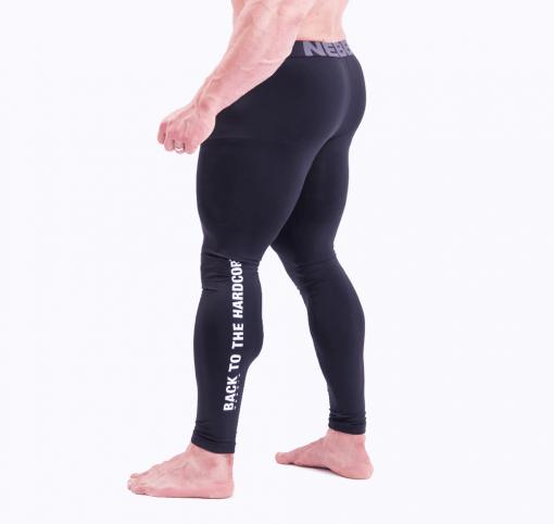 Bodybuilding Legging Zwart Nebbia 315 zijkant