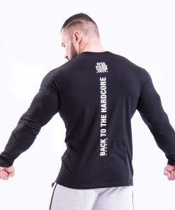 Bodybuilding Longsleeve Zwart Nebbia 341 achterkant
