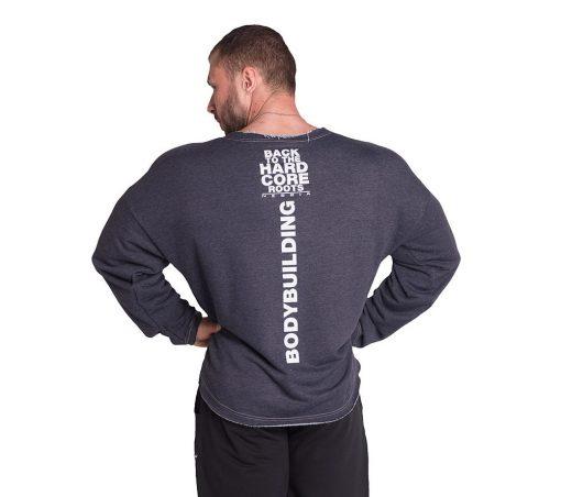 Bodybuilding Trui Blauw Nebbia 342 achterkant