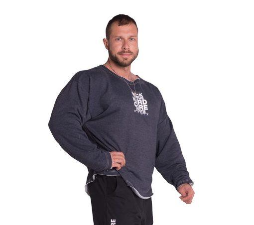 Bodybuilding Trui Blauw Nebbia 342 voorkant