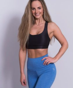 Mfit-High-Waist-Legging-Blauw-1