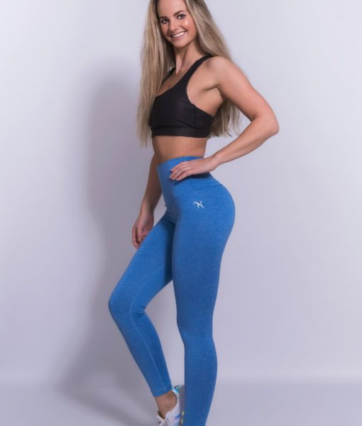 Mfit High Waist Legging Blauw