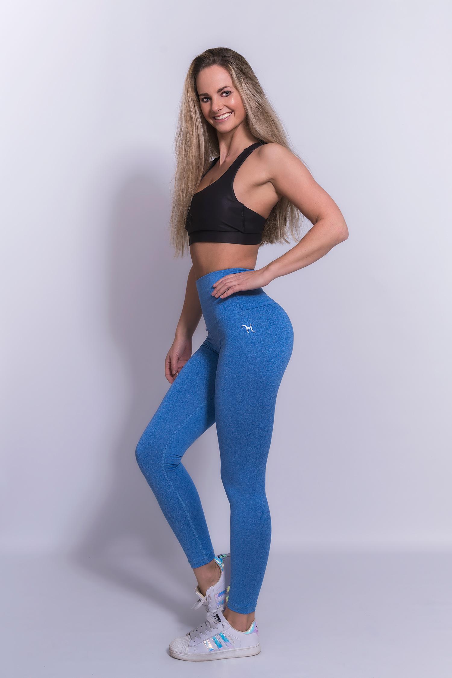 Mfit High Waist Legging Blauw