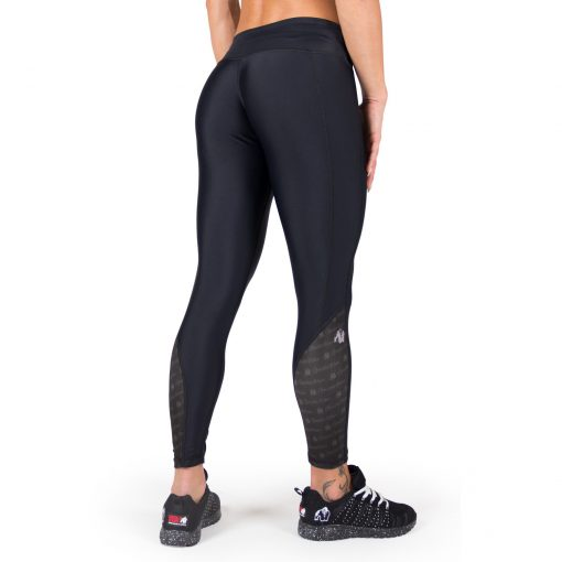 Compressie Legging Zwart Carlin - Gorilla Wear-2