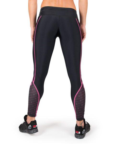 Compressie Legging Zwart Roze Carlin - Gorilla Wear-3