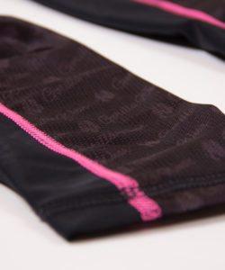 Compressie Legging Zwart Roze Carlin – Gorilla Wear-5