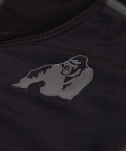 Compressie T-shirt Zwart Grijs Carlin - Gorilla Wear-5