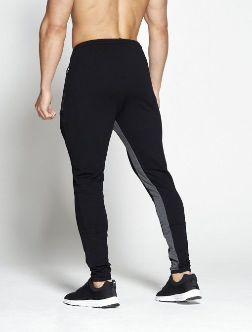 Fitness Broek Pro-Fit Tapered Zwart Grijs - Pursue Fitness-2