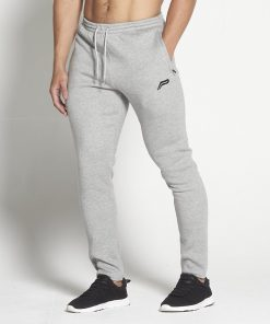Fitness Broek Tapered Grijs - Pursue Fitness-1